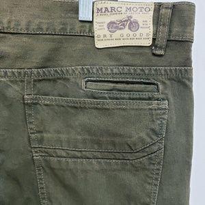 Andrew Marc Jeans - Andrew Marc Moto Carburetor Straight Leg Jeans